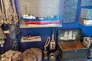Dagö Museums utställningshus i Kassari