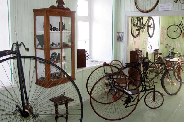 Эстонский музей велосипедов