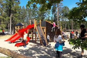 Детская игровая площадка Валгехобусемяэ