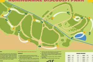Kuningamäe discgolfi park