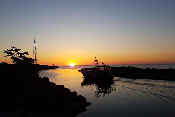 Der Hafen Toila