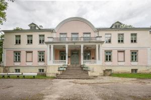 Museumszimmer im Gutshof Luua