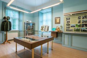 Музейные комнаты усадьбы Лууа