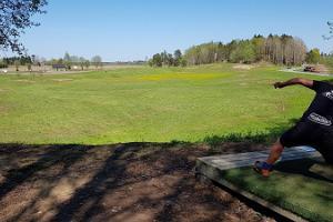 Mētaguses disku golfa trase