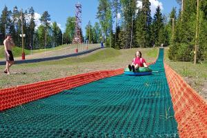Tubing at Valgehobusemäe Skiing and Holiday Centre