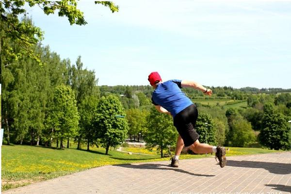 Viljandi Rotary Discgolf park