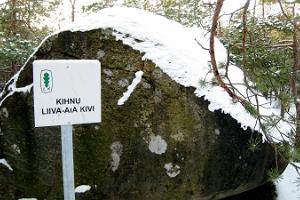 Kihnu Liiva-aa boulder