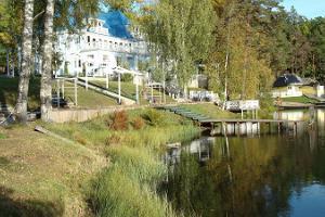 Nelijärve Holiday Centre, Pääsu villa