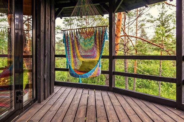 Accommodation in Sambliku Treehouse