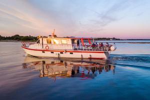 Bootsfahrten mit Pärnu Cruises auf dem Fluss Pärnu und in der Pärnuer Bucht