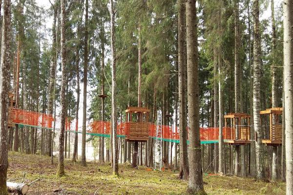 The NetWorld of Türi Adventure Park
