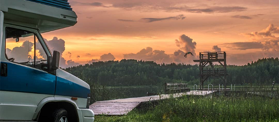 Wohnmobil-Urlaub in Estland