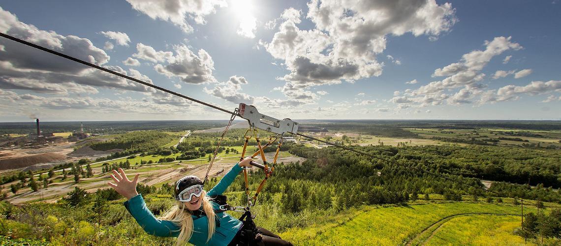 Kiviõli Adventure Park in Estonia, Visit Estonia