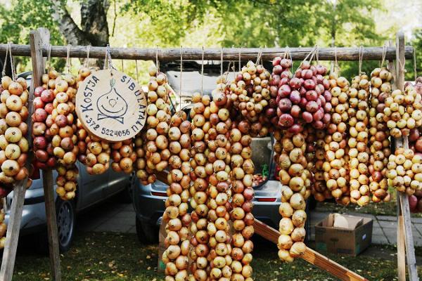 Der Fisch- und Zwiebelmarkt von Kallaste