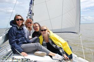 Seikle Vabaks purjetamine Pärnu lahel