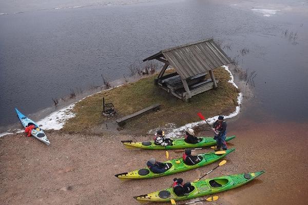 Seikle Vabaks kajakkiretki Soomaan kansallispuistossa