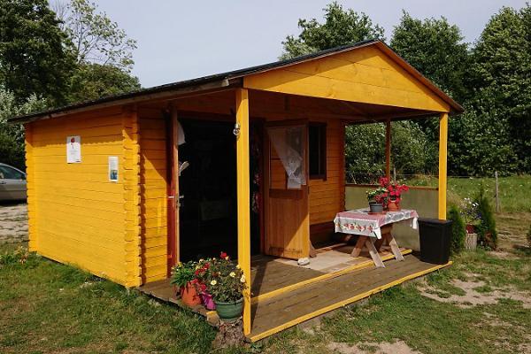 Der Laden Lohu auf der Insel Kihnu