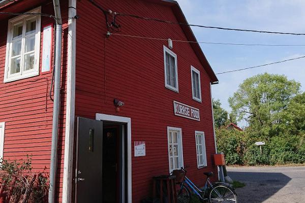 Der Laden des Kurase Zentrums auf der Insel Kihnu