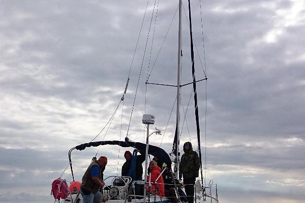 Seikle Vabaks purjetamine Sorgu saarele