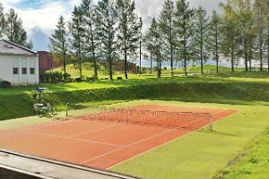 Valtu Idrottshus tennisplan