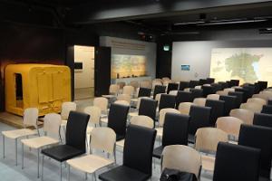 Die Konferenzräume des Eiszeitzentrums