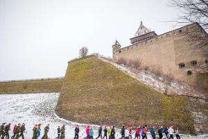 Charity Christmas Run in Narva