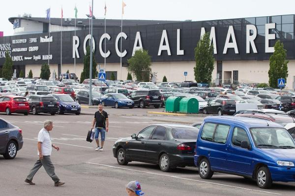 Einkaufszentrum Rocca al Mare