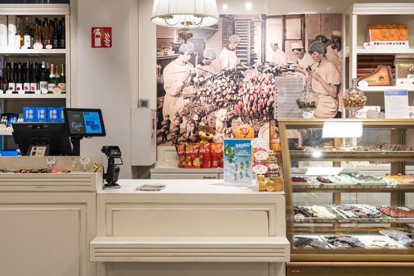 Kalev chokladbutik i Narva