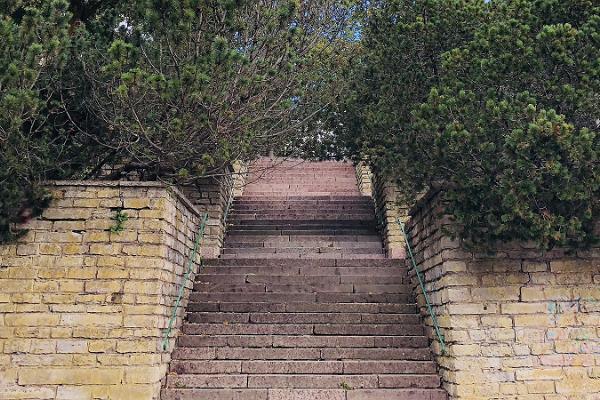 Лестница Адольфа Гана
