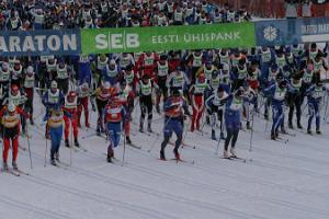 Tartu Marathon package for individual participants in hotel Tartu