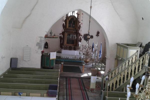 Die Kirche in Martna