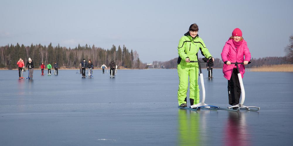 Лучший зимний поход – на финских санях!