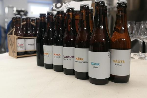 Exkursion und Bierverkostung in der Brauerei KOLK in Haapsalu (dt. Hapsal)