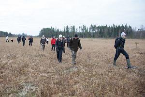 Kävelyretki Sangasten ruiskreivin radoilla ja jäljissä