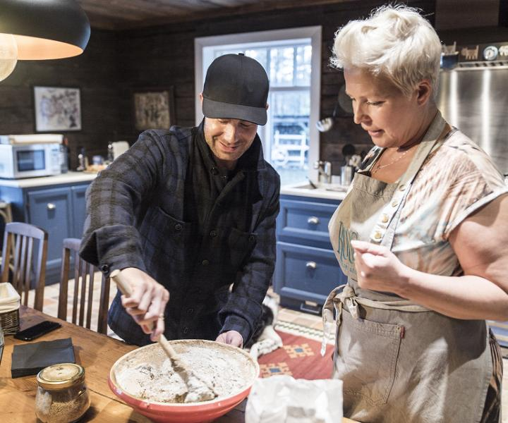 Baking bread the #EstonianWay
