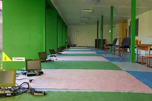 Shooting range at Tartu County Recreation Sports Centre