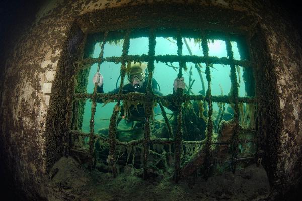 Rummu Äventyrscentrums dykning och snorkling / Adventure Center Rummu