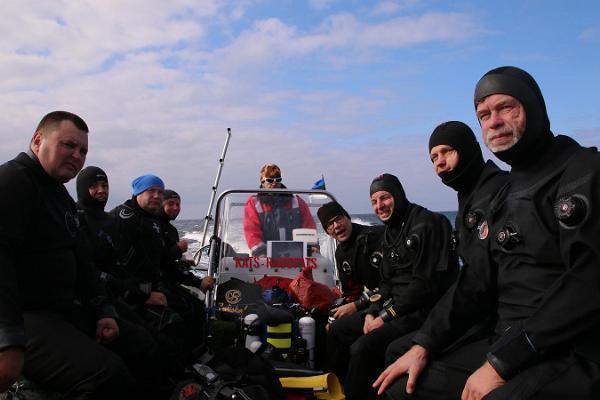 Sukeldumisklubi Barrakuuda Saaremaal