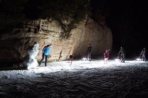 Поездка на светящихся санях по Таэваскода