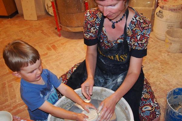 Keramikwerkstatt im Herrenhaus Alatskivi