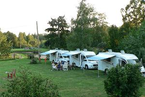 Wohnwagenpark des Ferienbauernhofes Hansu