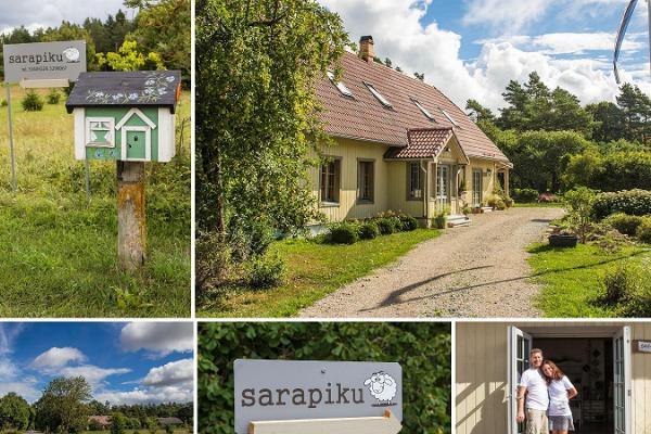 Sarapiku Vilt auf der Insel Saaremaa