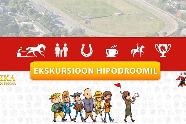 Giidiga ekskursioon Tallinna Hipodroomil