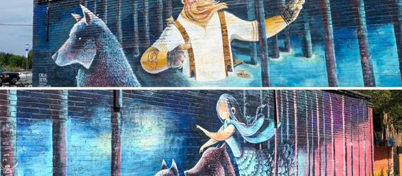 Street art in Estonia, Visit Estonia