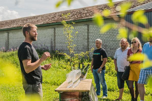 Jaanihanso Siidrivabriku külastus koos ekskursiooni ja degusteerimisega