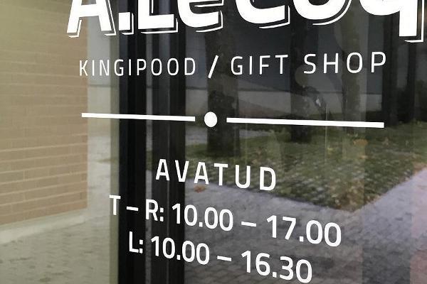 A. Le Coq dāvanu veikals
