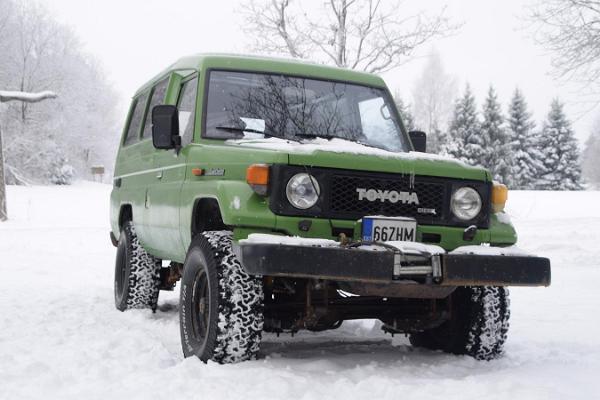 Sangaste Safari auto talvel