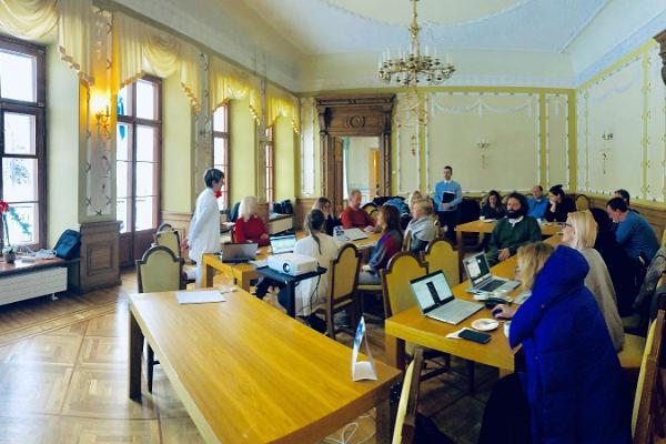 Seminarräume im Herrenhaus Mäetaguse