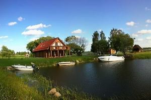 Прокат лодок и водных велосипедов в доме отдыха Rõsna
