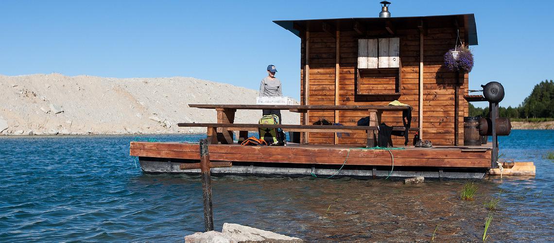 Alternative saunas in Estonia